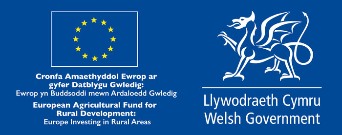 European Agricultural Fund for Rural Developments, and Welsh Government
